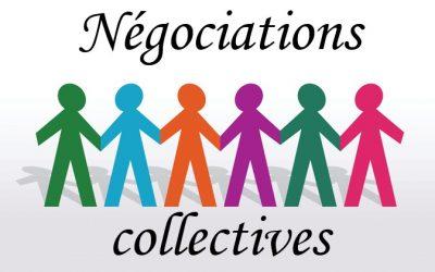 Négociations collectives